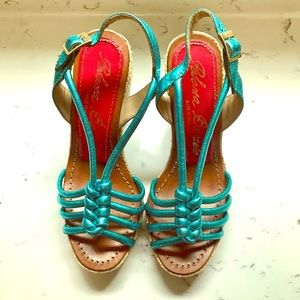 Paloma Barcelo made in Spain Leather sandal